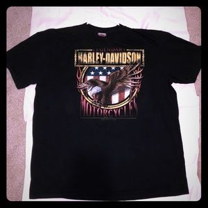 Harley Davidson Double sided T-shirt! Perfect!